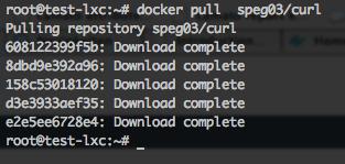 installing a new docker image